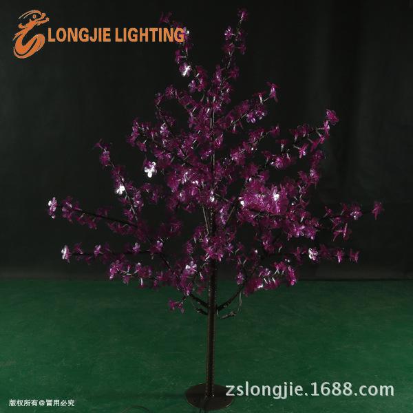 540灯 高1米5 铁杆紫金花树  LJ-C540P-1,5