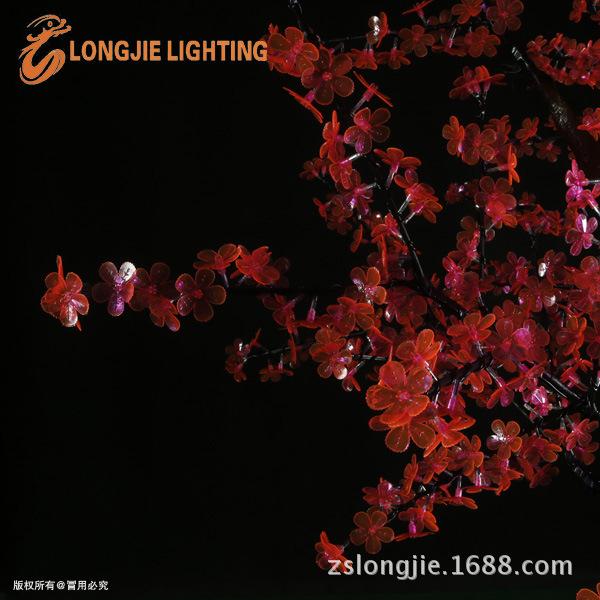 1296灯 高2米 仿真桃花树 LJ-S1296P-2,5m