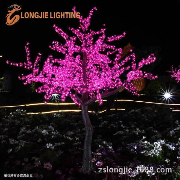 2484灯 高2米8 仿真果树灯工程图