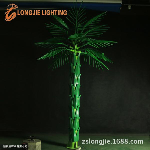 高3米 宽2米 绿色LED油棕树灯 LJ-PA16G-3,0