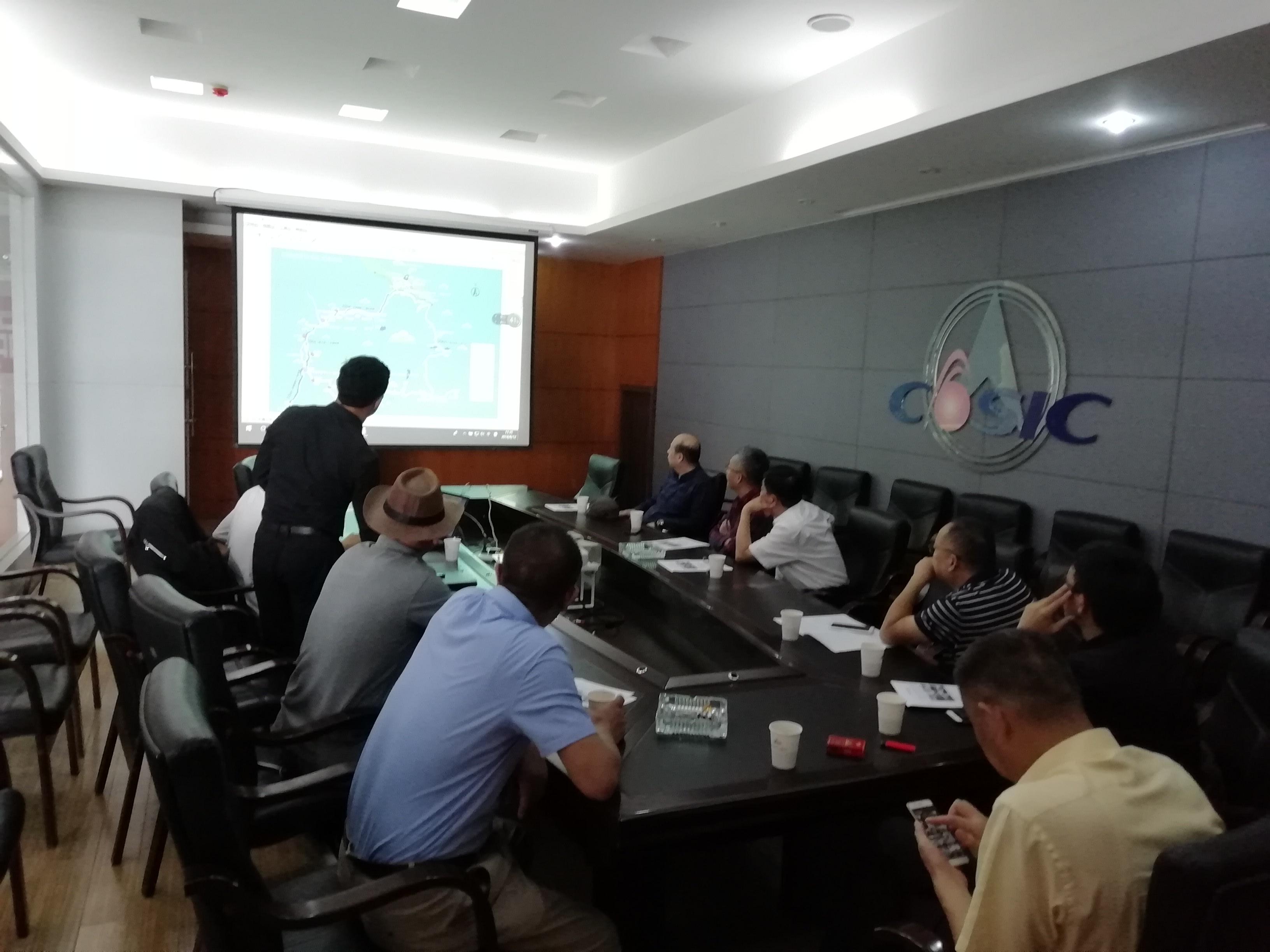 四川巴塘措普沟景区领导一行到云南航天德赢AC米兰汽车有限公司洽谈合作