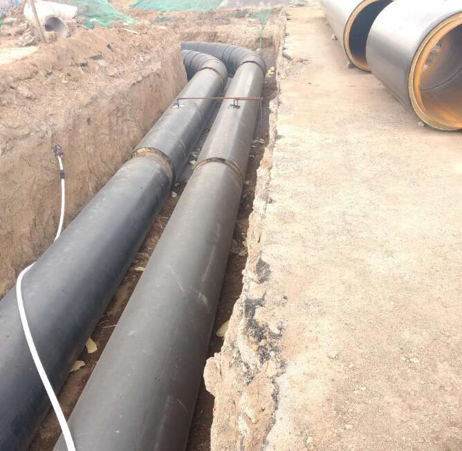 河南信阳聚氨酯保温管集中供热工程