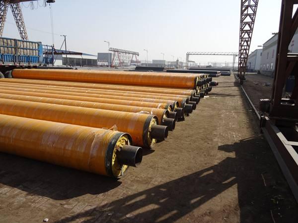 河南热力公司聚氨酯保温管城市小区供热管网案例