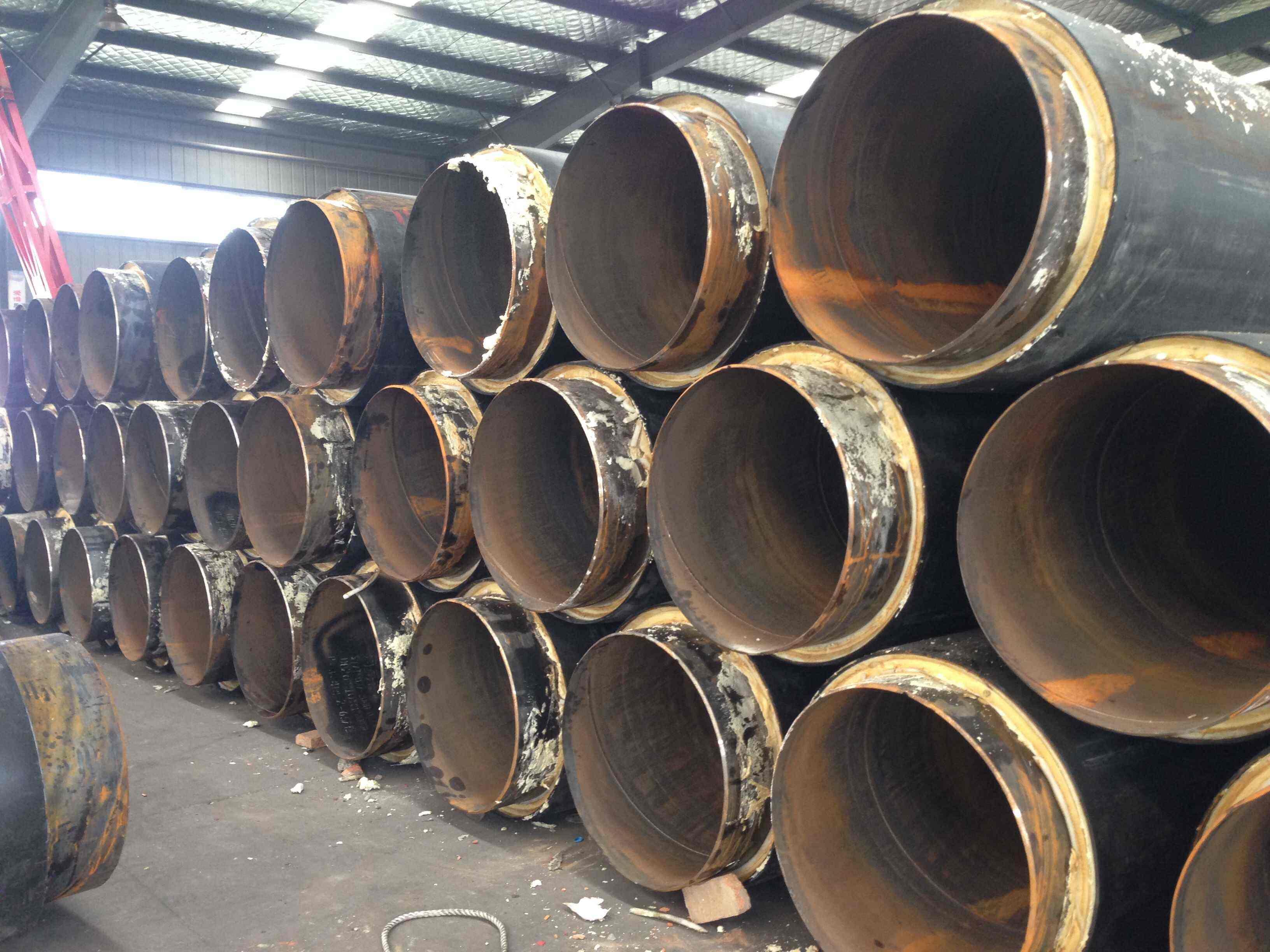 耐酸碱复合聚氨酯保温钢管-厂家现货批发