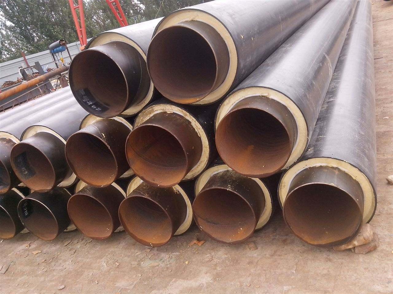 32耐酸碱聚氨酯保温钢管-厂家现货定制