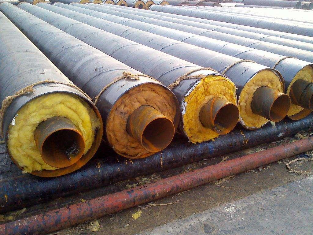 耐高温复合聚氨酯直埋保温管-厂家定制