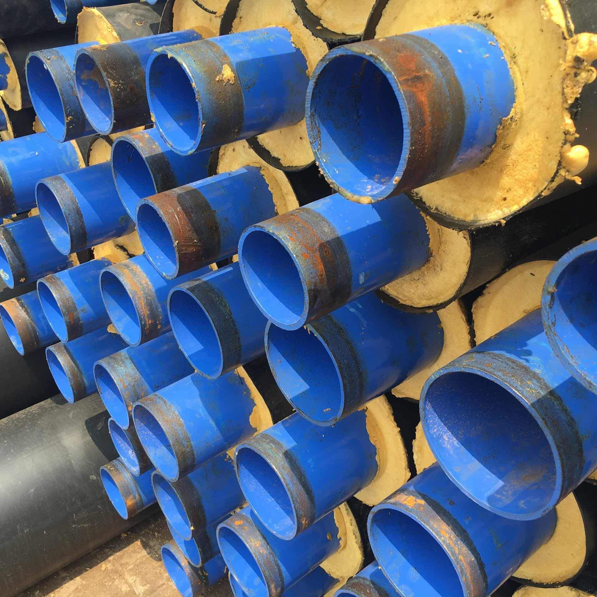 河南信阳供暖聚氨酯保温管工程案例