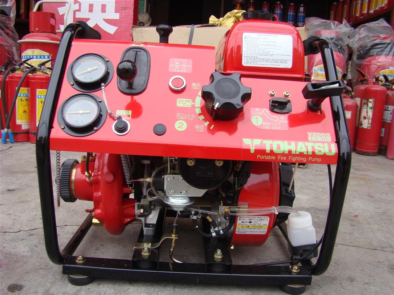 消防手抬機動泵