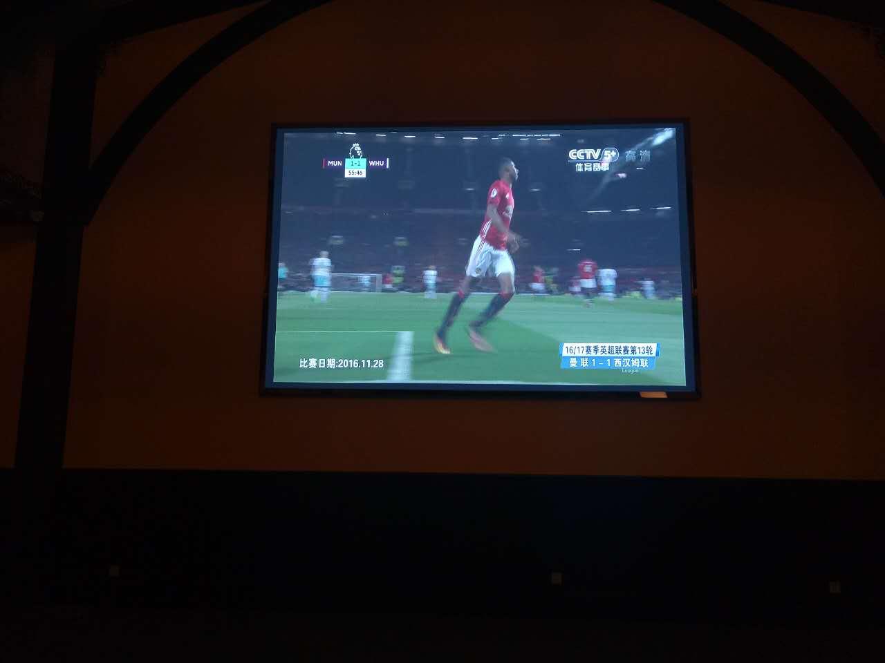 北京普兰达酒庄室内P3全彩LED显示屏15㎡
