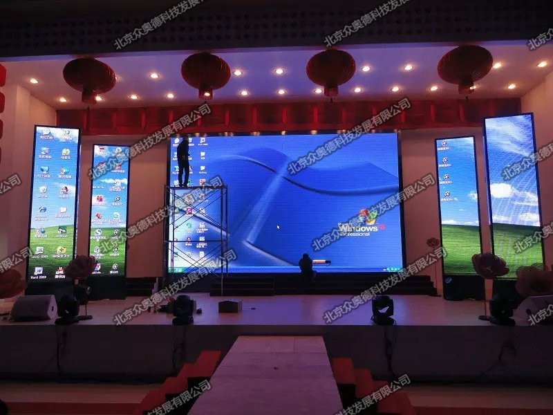 北京和平酒店室内P6全彩LED显示屏190㎡