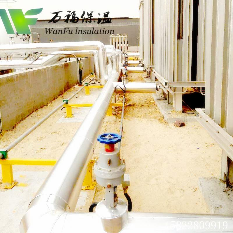 LNG保冷管壳-酒泉卫星发射基地保冷工程