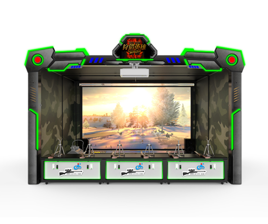模擬射擊游戲經典作品,畫面表現力強,光影效果極佳。