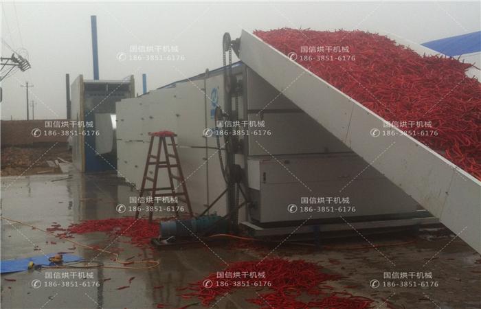 中大型辣椒烘干机械