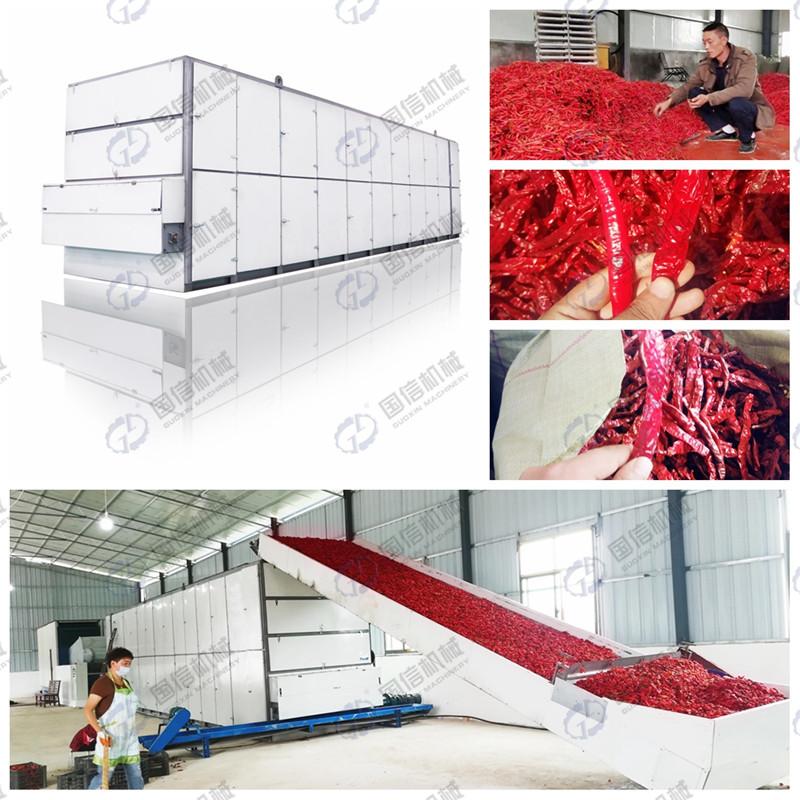 大型網帶式烘干設備
