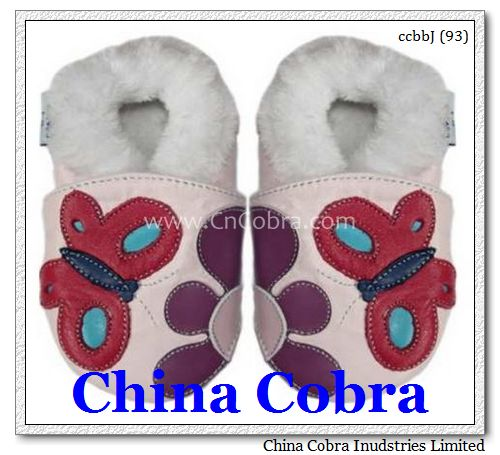 baby fur shoes