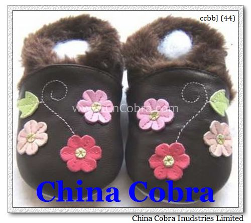 infant fur shoes
