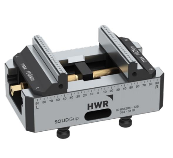 德国HWR 77-77五轴虎钳快速夹具工装夹具治具cnc定位器可替换LANG