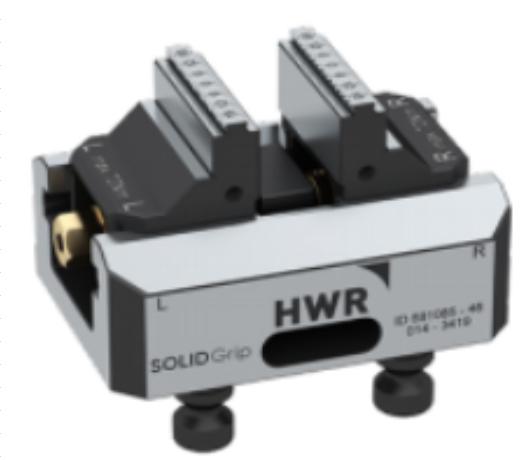 德国HWR 77-46五轴虎钳快速夹具工装夹具治具cnc定位器可替换LANG
