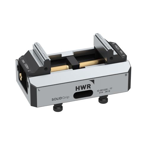 德国HWR125-77五轴虎钳快速夹具工装夹具治具cnc定位器可替换LANG