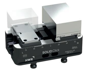 德国HWR125可换软爪五轴虎钳快速夹工装夹治具cnc定位器替换LANG