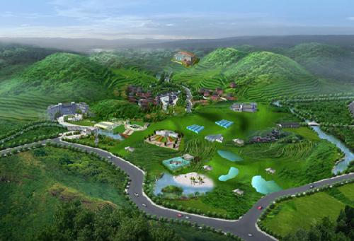 信阳光山农业旅游观光园区