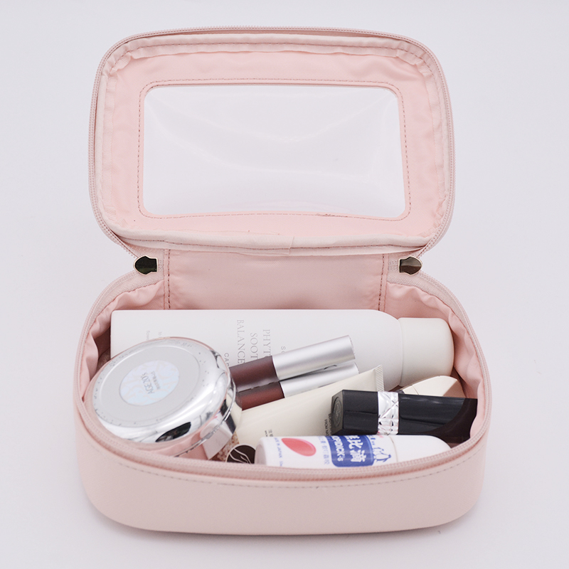Picture of Wholesale High Quality PVC Cosmetic Bag Custom Waterproof Cosmetic Bag For Women
