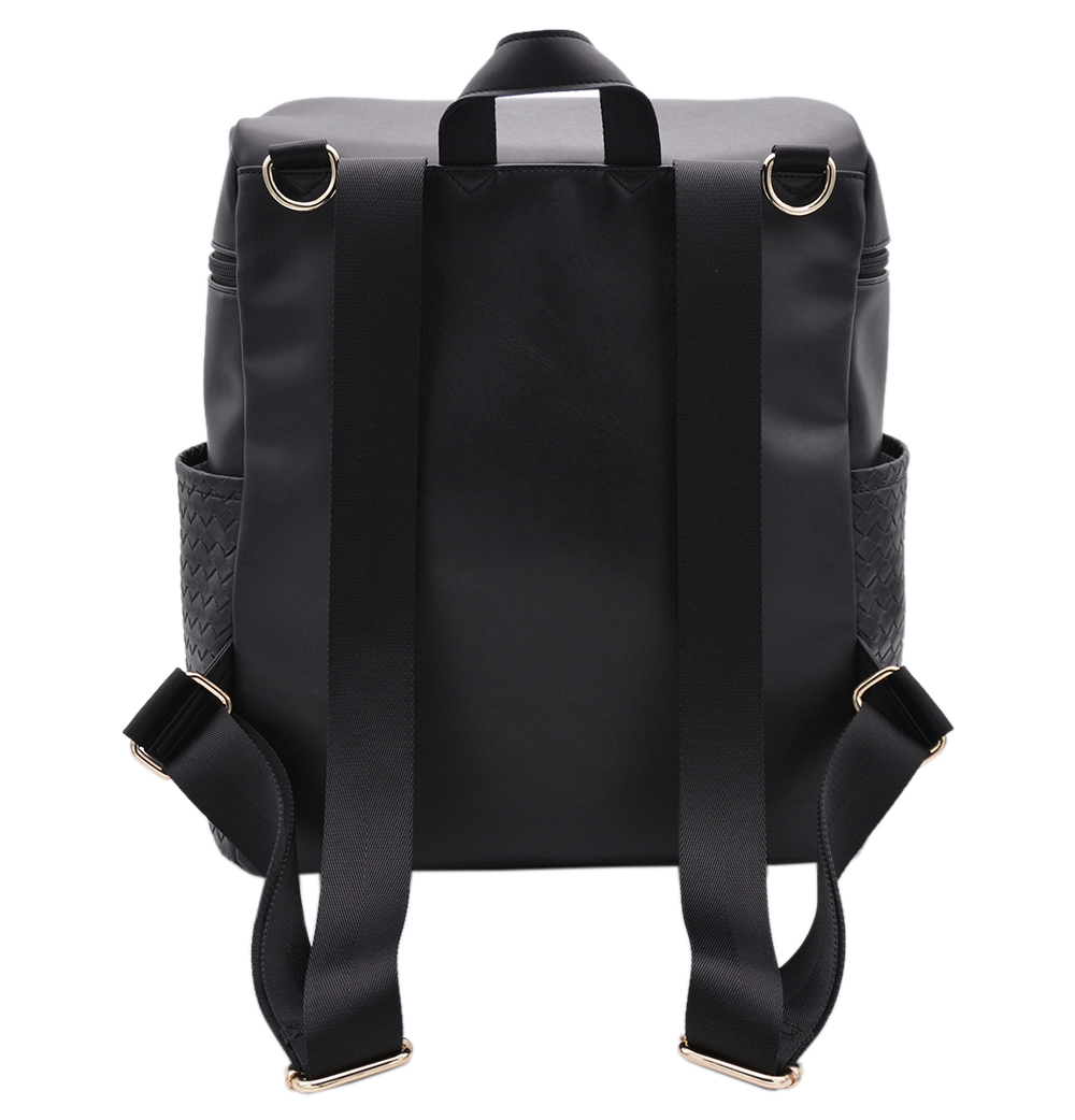 Picture of High Quality Durable PU Diaper Bags Custom Wholesale Daily Diaper Bags For Mommy