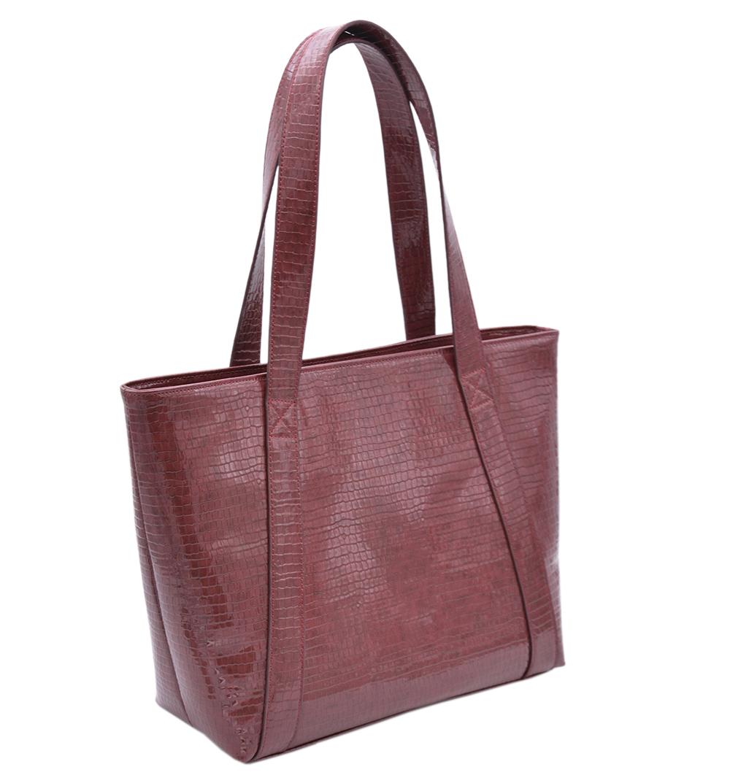 Picture of New large capacity crocodile pattern vegan leather PU leather handbags tote bag ladies
