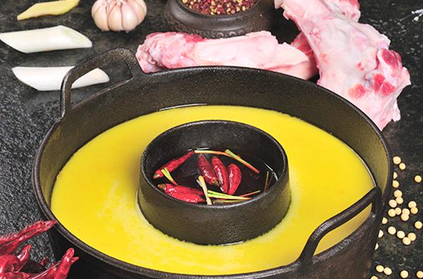 豆浆锅温柔辣