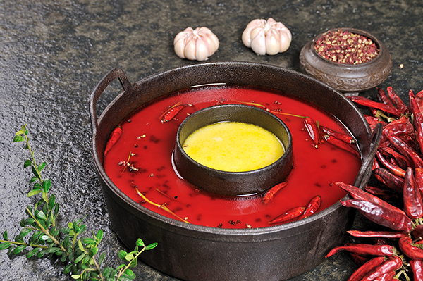 温柔辣豆浆锅
