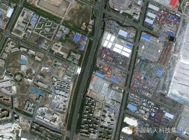 """多卫星观测天津港""""8·12""""火灾爆炸事故"""