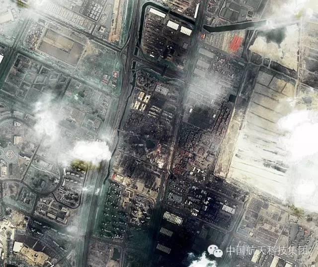 """多衛星觀測天津港""""8·12""""火災爆炸事故"""