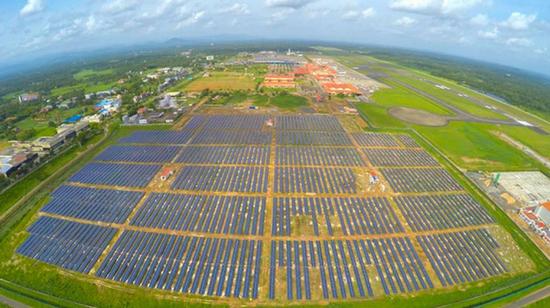 全球首座太阳能机场在印建成