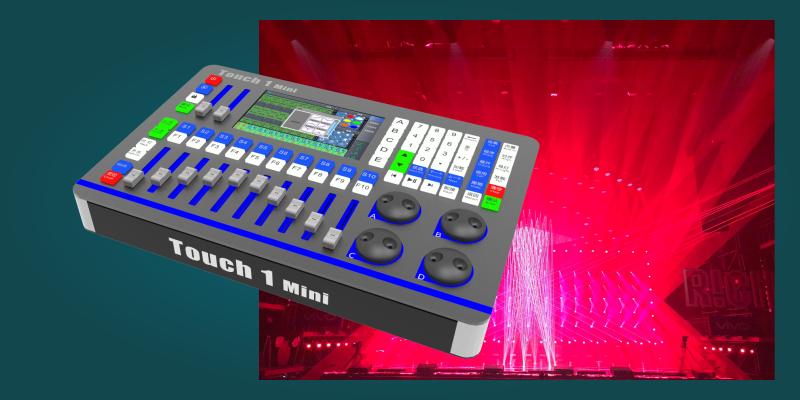 Touch 1 Mini灯光数字控台