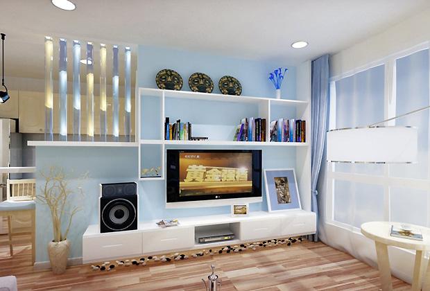 根据客厅用途设计背景墙