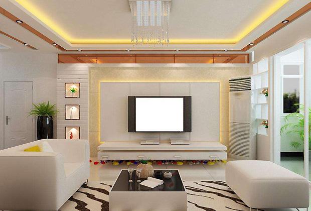 电视背景墙灯光设计