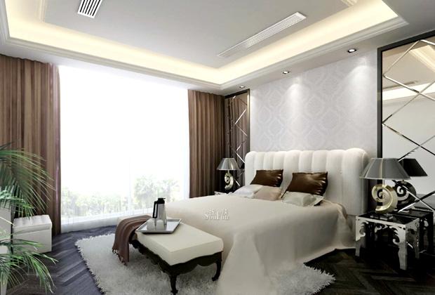 卧室平面吊顶