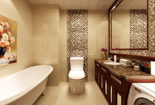 卫生间大小应与整个房子面积比例协调