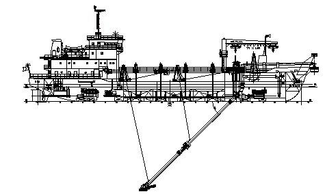 1500 m3 耙吸式挖泥船