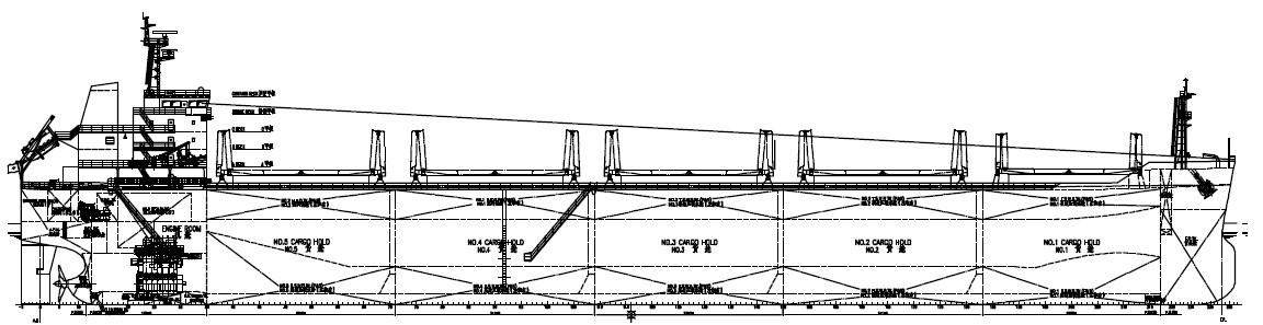58,000吨散货船