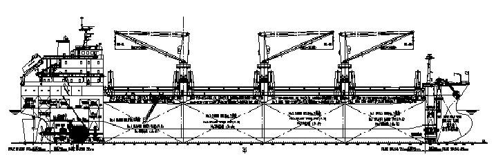 23,000吨散货船