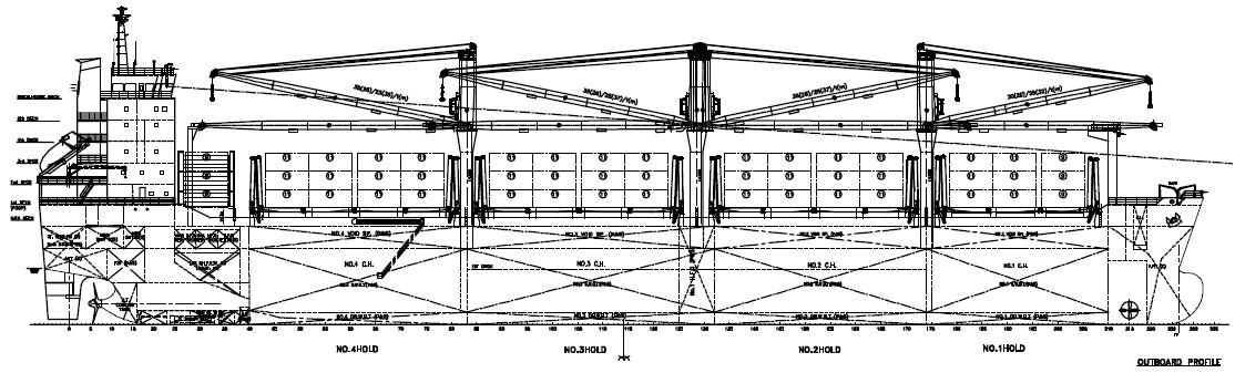 24,000吨多用途船