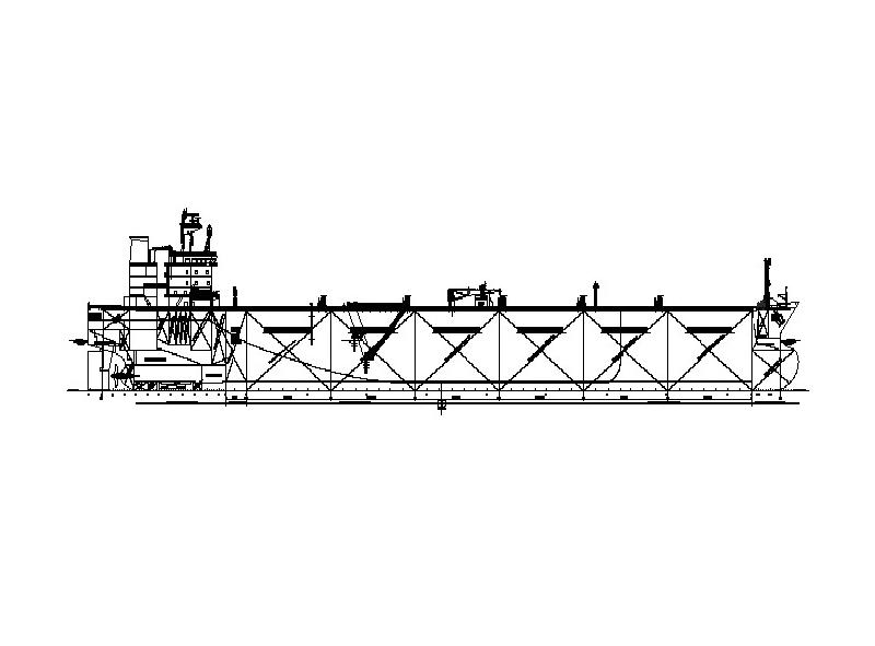 105,000吨阿芙拉型油船结构优化设计