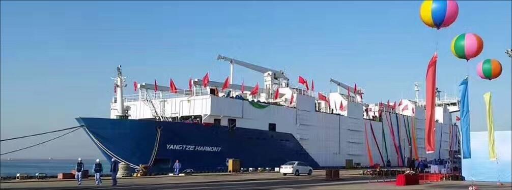 集装箱船改牲畜船-HESHUN