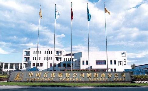 中國石化股份公司潤滑油分公司項目