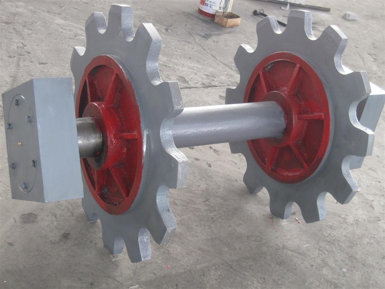 固定轮铸铁机头、尾轮