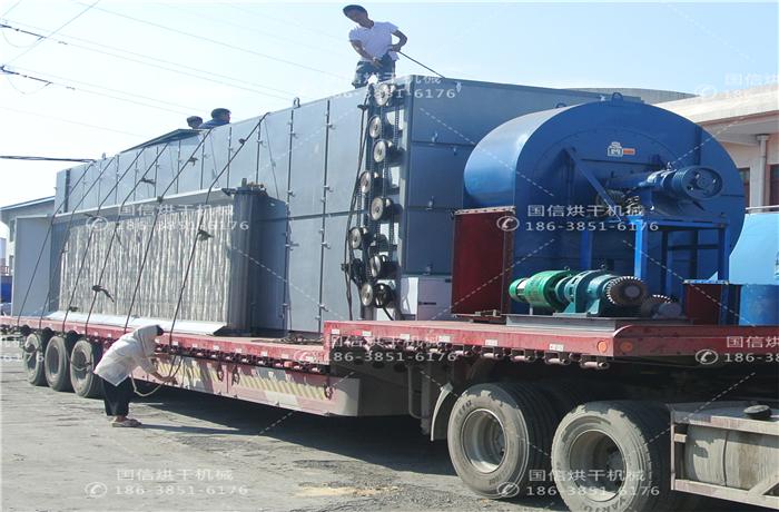 河北巨鹿大型金银花烘干机采购案例