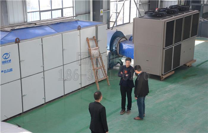 淅川10米金银花热泵烘干机案例