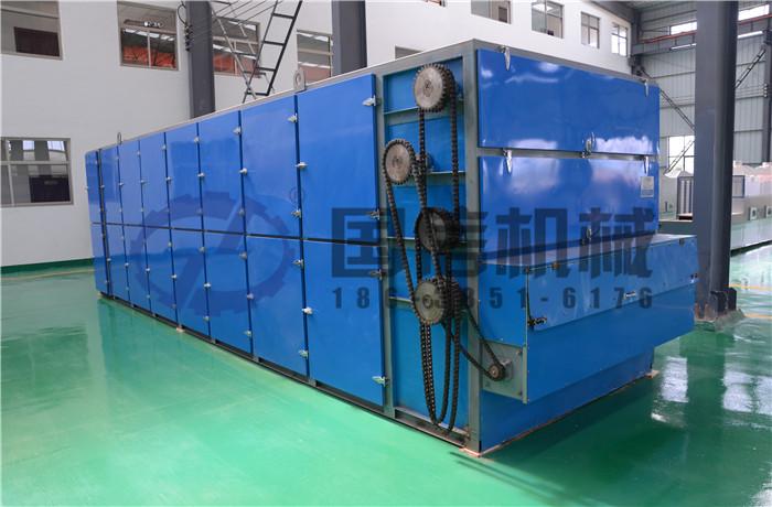 湖南潘总大型金银花烘干机购买案例