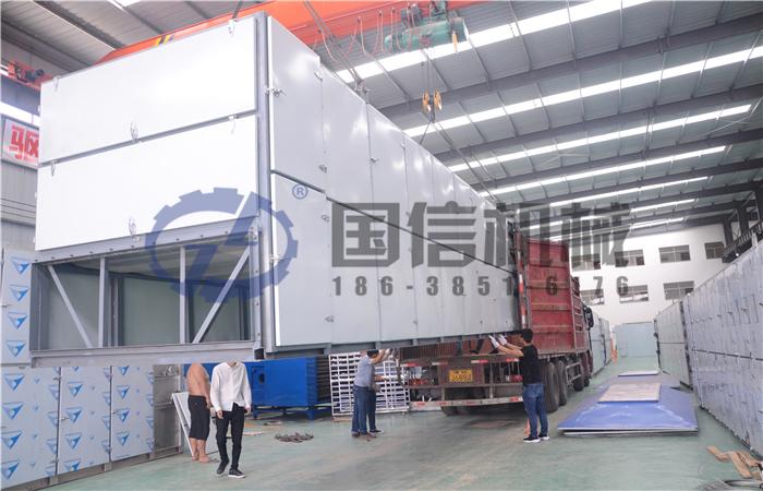 新乡原阳县金银花热泵干燥设备案例
